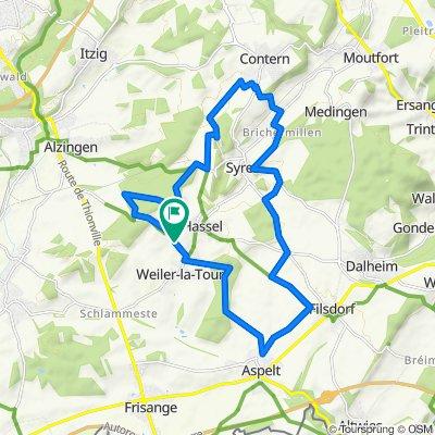 VTT Weiler-la-Tour Circuit 1