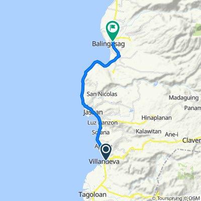 Unnamed Road, Villanueva to Butuan - Cagayan de Oro - Iligan Road, Balingasag