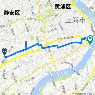 Shanghai Saturday ride Part 1