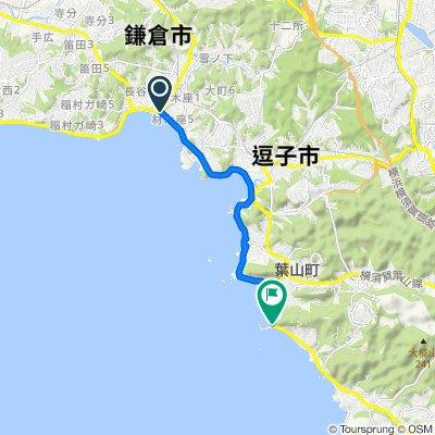 Kamakura St to Hayama