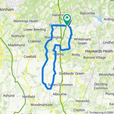 Long Wineham route