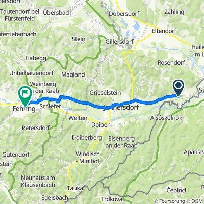 Mogersdorf 215 nach Kindergartenweg 4, Fehring