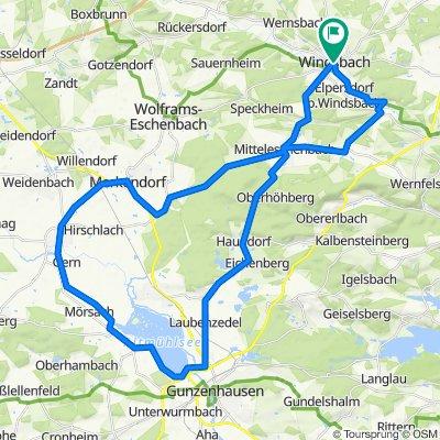 Windsbach - Altmühlsee Runde