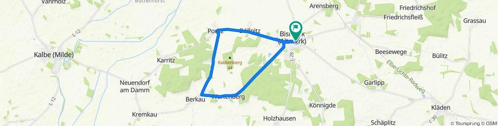 Hochgeschwindigkeitsroute in Bismark (Altmark)