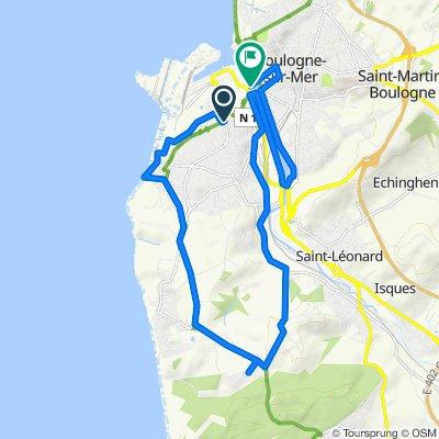 Itinéraire reposant en Boulogne-sur-Mer
