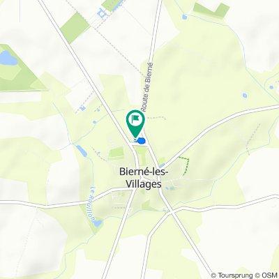 Itinéraire reposant en Bierné