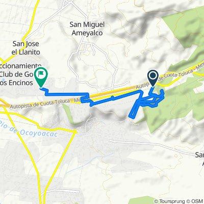 Steady ride in Ocoyoacac