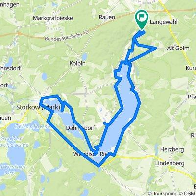 Rund um den Scharmützelsee und Storkower See