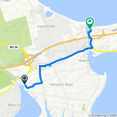 Steady ride in Hampton Bays
