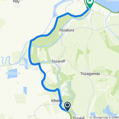 Easy ride in Kisköre