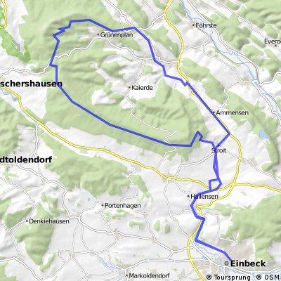 adfcEinbeck Auf den Hoehen des Hils 20080803
