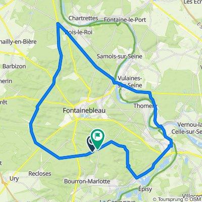Tour de Fontainebleau