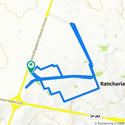 Rota relaxada em Rancharia