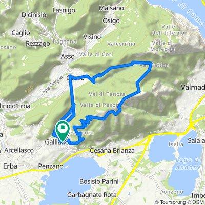 Da Via Roma 32, Corneno-galliano-carella Mariaga a Via Roma 43, Corneno-galliano-carella Mariaga