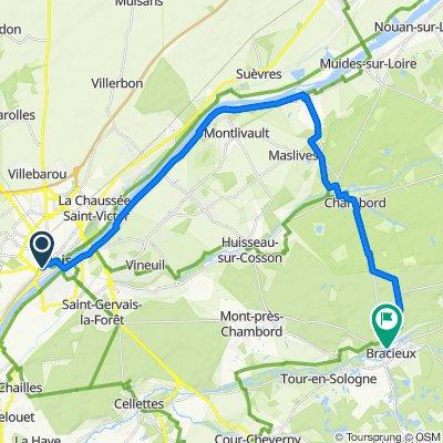 Loire - Etape 1 - Blois-Bracieux