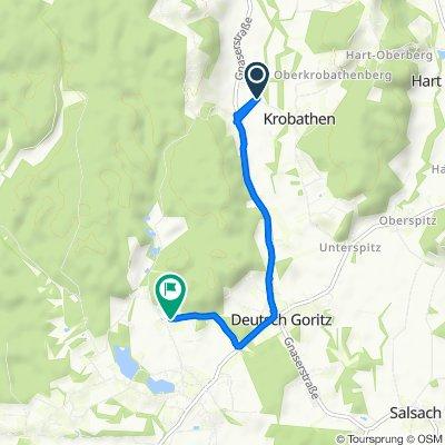 Schrötten bei Deutsch Goritz 9 nach Ratschendorf 96