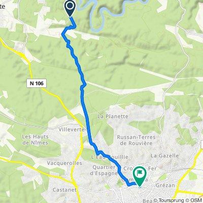 Route stable en Sainte-Anastasie