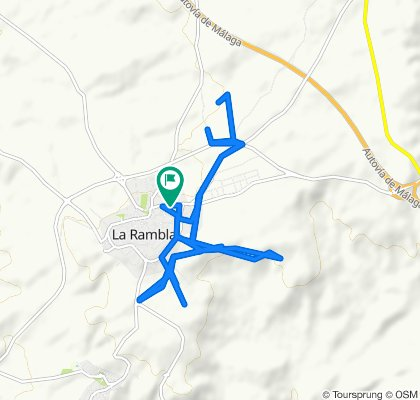 Paseo lento en La Rambla