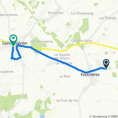 Itinéraire reposant en Saint-Valérien
