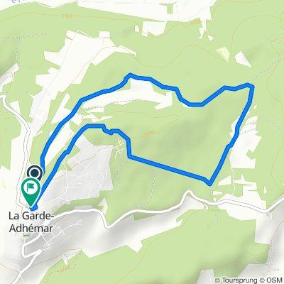 Itinéraire facile en La Garde-Adhémar