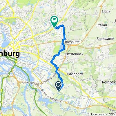 Mittlerer Landweg - Tonndorf