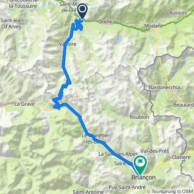 3 France Forte Etappe MaurienneBriancon