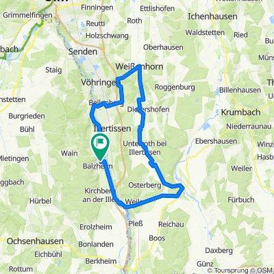 Kellmünz-Rothtal-Weissenhorn-Balzheim
