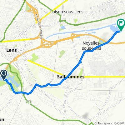 Itinéraire reposant en Noyelles-sous-Lens