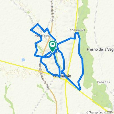 Ruta moderada en Villamañán