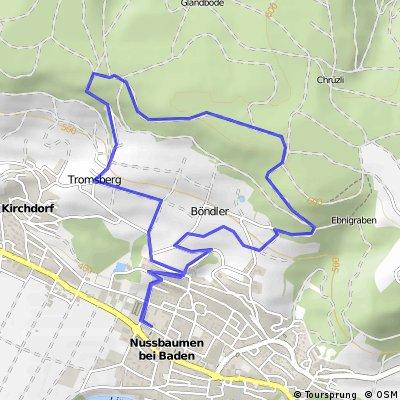 Backyard Hill Test Run
