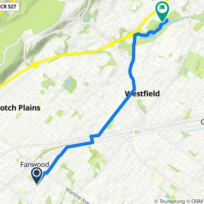 140 Burns Way, Fanwood to 1000 Springfield Ave, Mountainside