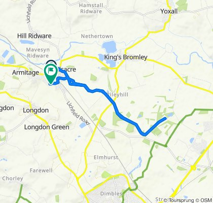 Armitage to Fradley Junction