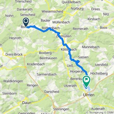 Entspannende Route in Ulmen