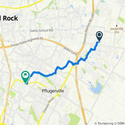 2600–2698 Ravensbrook Ct, Pflugerville to 2112 W Pecan St, Pflugerville