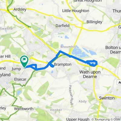 127 Cemetery Road, Barnsley to 127 Cemetery Road, Barnsley