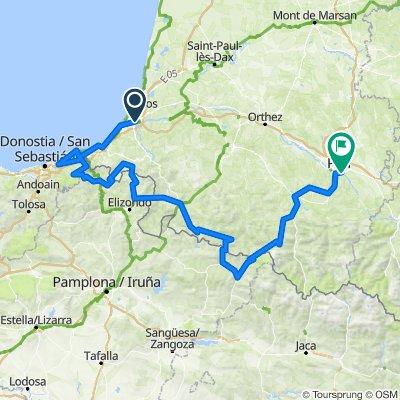 Traversée Pyrénées Basques v2