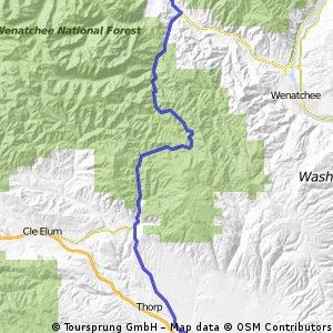 Ellensburg to Leavenworth