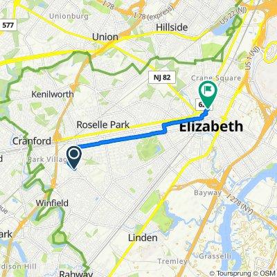 Moderate route in Elizabeth o ccc