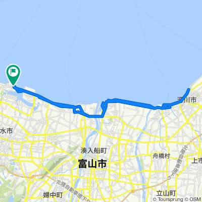 Easy ride in Imizu-Shi
