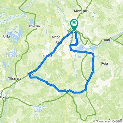 58 Km Tartu Rattaralli 2020