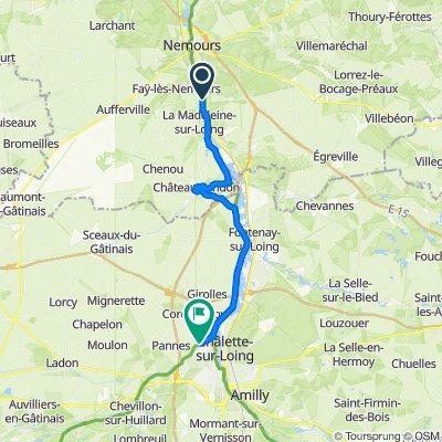 Itinéraire reposant en Neuvy-en-Sullias