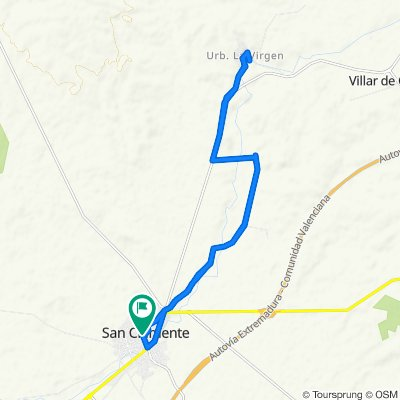 Ruta supersónica en San Clemente