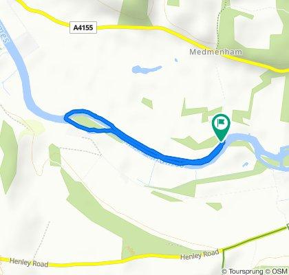 Ferry Lane, Marlow to Ferry Lane, Marlow