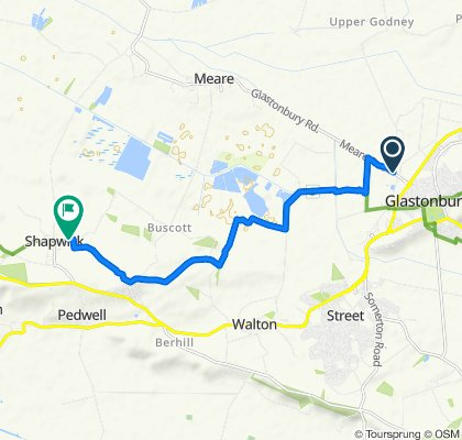 Blistering ride in Bridgwater