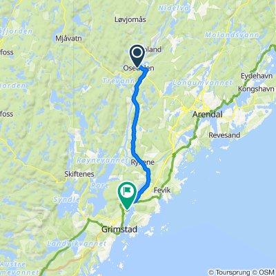 Frolandssenteret 16, Froland to J.M. Uglands vei 26, Grimstad
