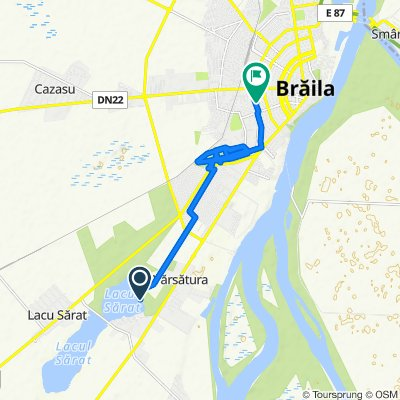 Relaxed route in Braila
