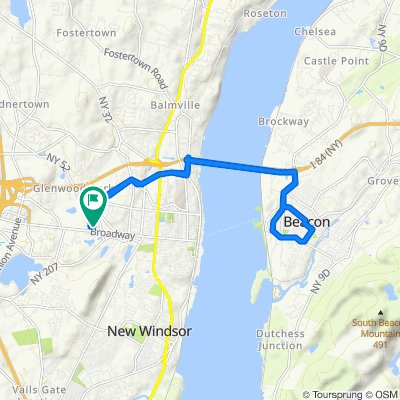 38 Maple St, Newburgh to 31 Maple St, Newburgh