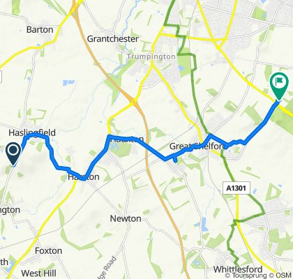 Chapel Hill to Babraham Road