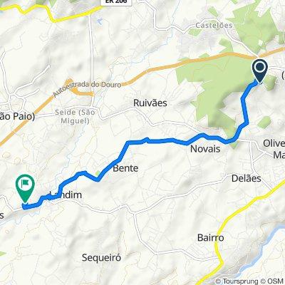 High-speed route in Landim