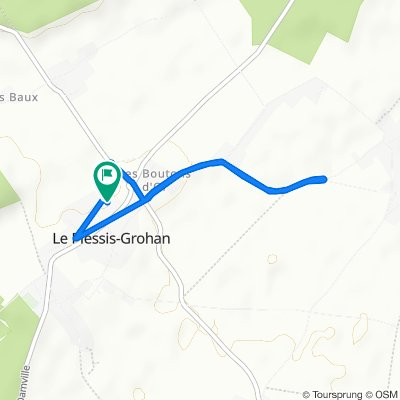 Itinéraire modéré en Le Plessis-Grohan